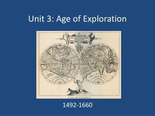 Unit 3: Age of Exploration