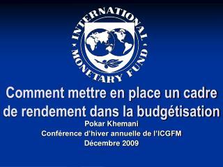 Comment mettre en place un cadre de rendement dans la budgétisation