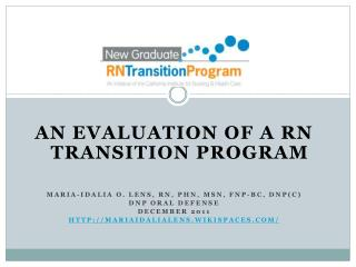 An Evaluation of a RN   Transition Program