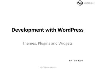 Development with  WordPress
