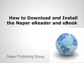 How to Download and Install the Naper eReader and eBook