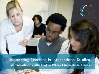 Supporting Teaching in International Studies
