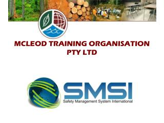MCLEOD TRAINING ORGANISATION  PTY LTD