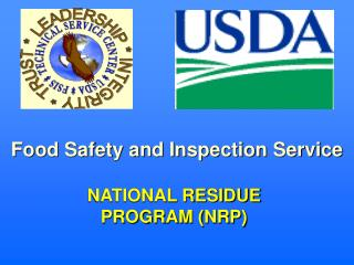 NATIONAL RESIDUE PROGRAM (NRP)