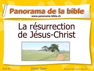 La r�surrection  de J�sus-Christ