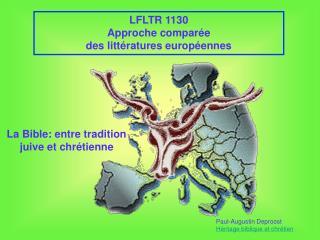 LFLTR 1130 Approche comparée des littératures européennes
