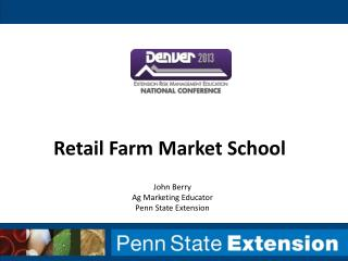 Retail Farm Market School