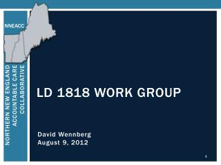LD 1818 Work Group