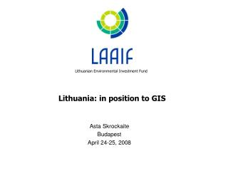 Lithuania: in position to GIS