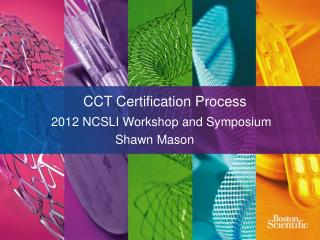 CCT Certification Process