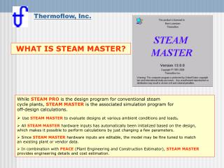 What is STEAM MASTER