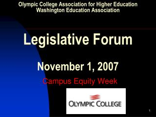 Campus Equity Week