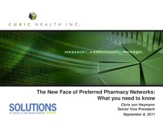 The New Face of Preferred Pharmacy Networks: What you need to know