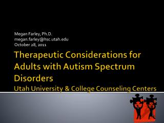 Megan Farley, Ph.D. megan.farley@hsc.utah October 28, 2011