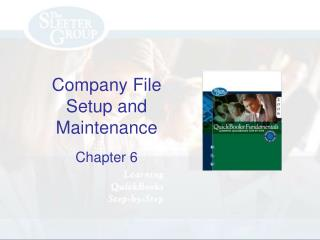 Company File Setup and Maintenance