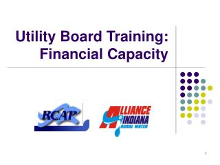 Utility Board Training: Financial Capacity