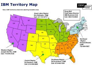 IBM Territory Map