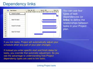 Dependency links