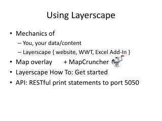 Using Layerscape