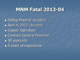 MNM Fatal 2013-04