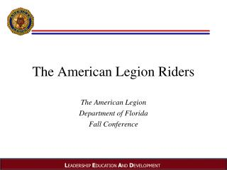 The American Legion Riders