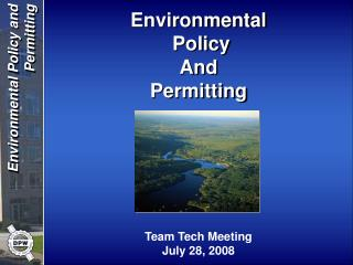 Team Tech Meeting July 28, 2008