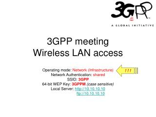3GPP meeting Wireless LAN access