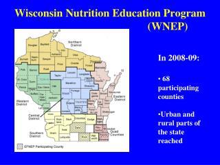 Wisconsin Nutrition Education Program WNEP