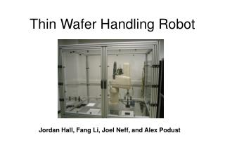 Thin Wafer Handling Robot