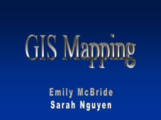 GIS Mapping