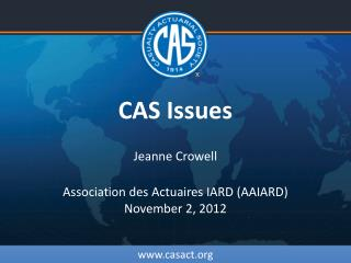 CAS Issues