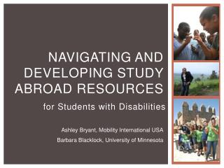 Navigating and Developing Study Abroad  Resources