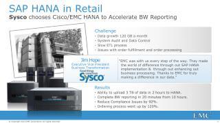 SAP HANA in Retail