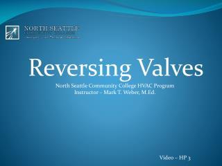 Reversing Valves