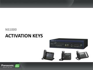 Activation Keys