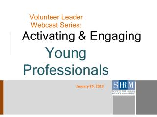 Volunteer Leader Webcast Series: