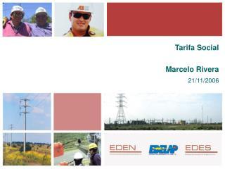 Tarifa Social Marcelo Rivera 21/11/2006