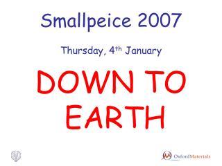 Smallpeice 2007