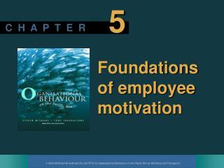 Foundations of employee motivation