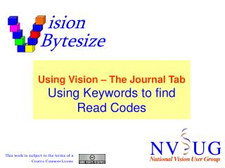 Using Keywords to find Read Codes