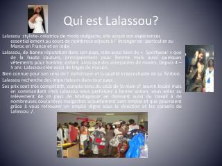 Qui est  Lalassou ?