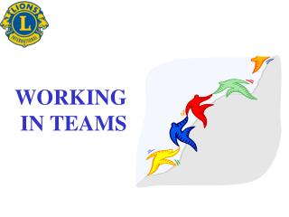 WORKING  IN TEAMS
