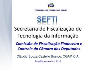 Secretaria de Fiscalização de Tecnologia da Informação