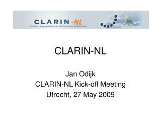 CLARIN-NL