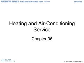 Heating and Air-Conditioning Service