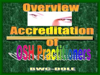 Overview   Accreditation  of