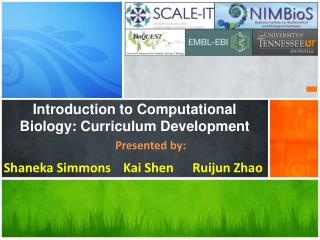 Introduction to Computational Biology: Curriculum Development
