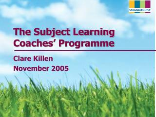 The Subject Learning Coaches' Programme