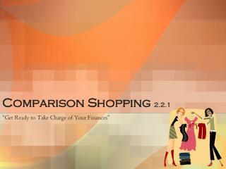 Comparison Shopping  2.2.1