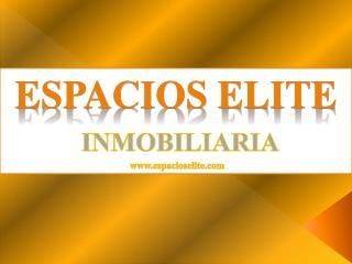 ESPACIOS ELITE INMOBILIARIA  espacioselite